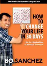 book cover change your life in 30 days